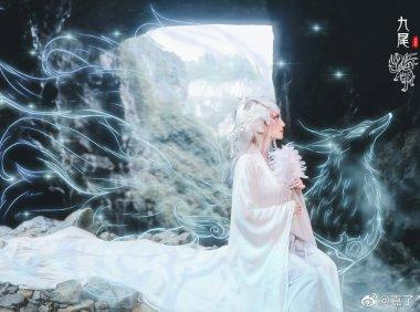 抖音美妆博主嘉了个玲 神话妆容还原山海经中的神话故事